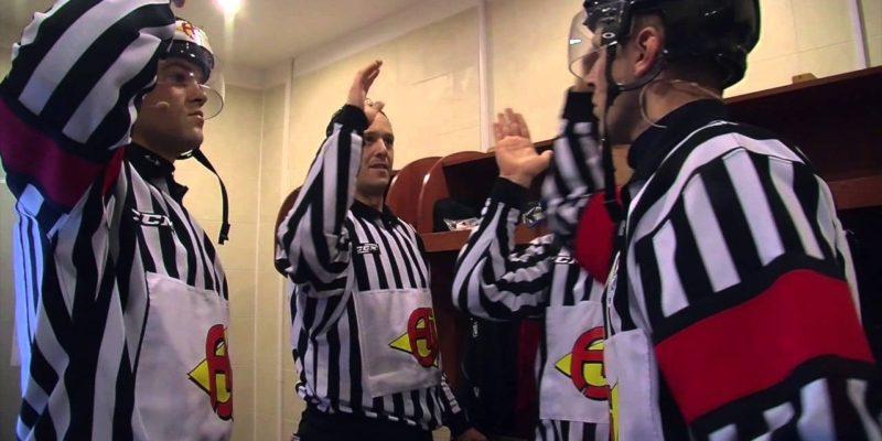 Rozhodčí na MS v hokeji 2017