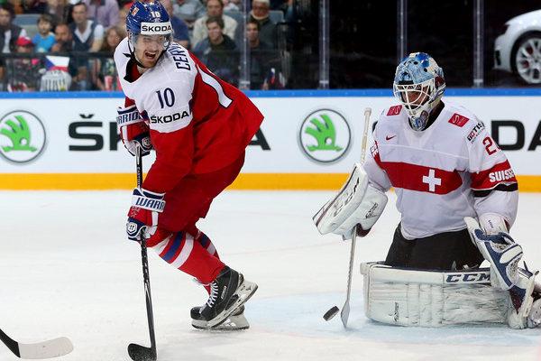 Roman Červenka na MS v hokeji